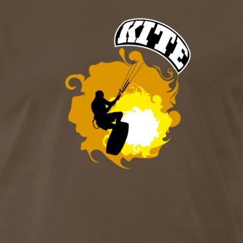 Kitesurf_02 - Men's Premium T-Shirt