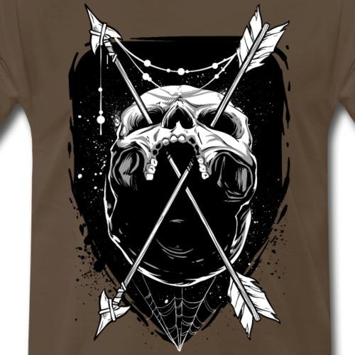 Hip skull - Men's Premium T-Shirt