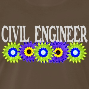 Civil Engineer Asters - Men's Premium T-Shirt