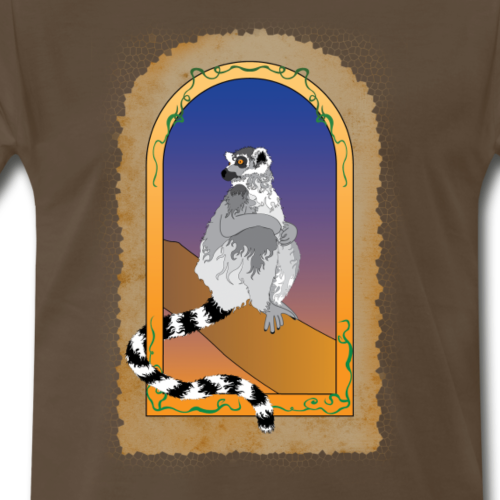Window To A Lemur - Men's Premium T-Shirt