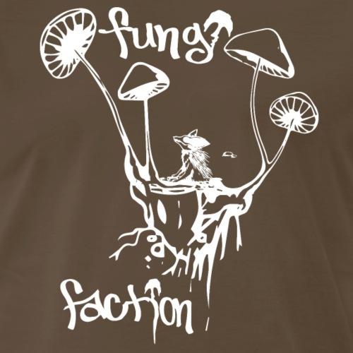 Psychedelic Desert Dog - Fungi Faction - Men's Premium T-Shirt
