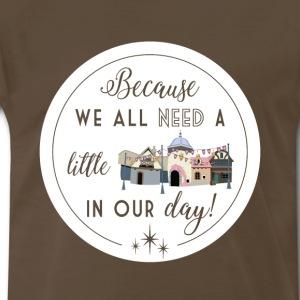 Tangled Restrooms - Men's Premium T-Shirt