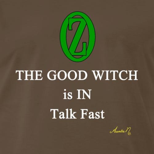 0133w Good Witch - Men's Premium T-Shirt