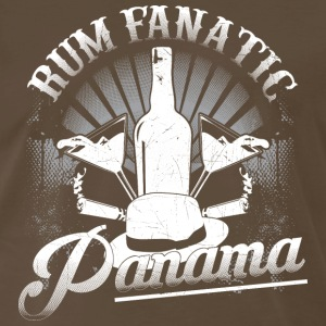 Rum Fanatic T-shirt - Panama - Men's Premium T-Shirt