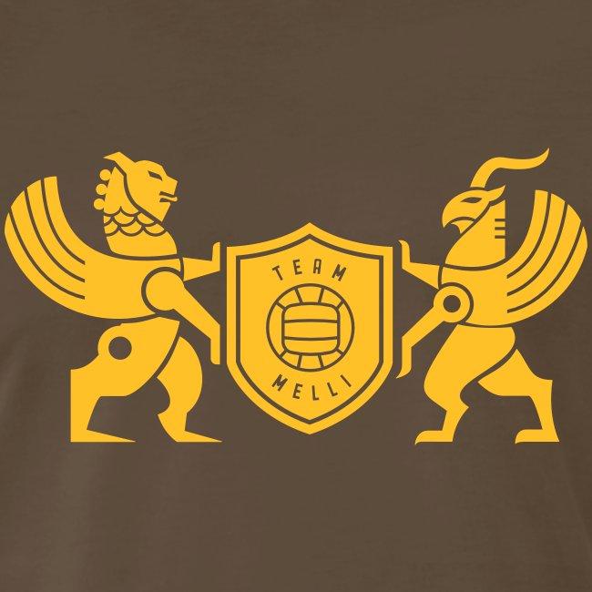 Iran lion & griffin