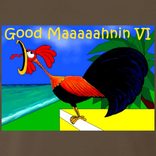 Good morning VI - Men's Premium T-Shirt