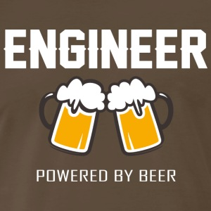 Engineer powered by beer T Shirt - Men's Premium T-Shirt