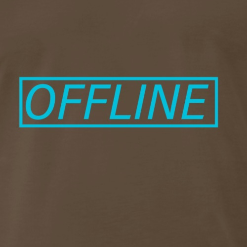Offline Blue - Men's Premium T-Shirt