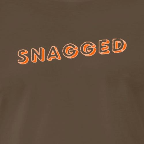 Snagged - Orange Shadow - Men's Premium T-Shirt