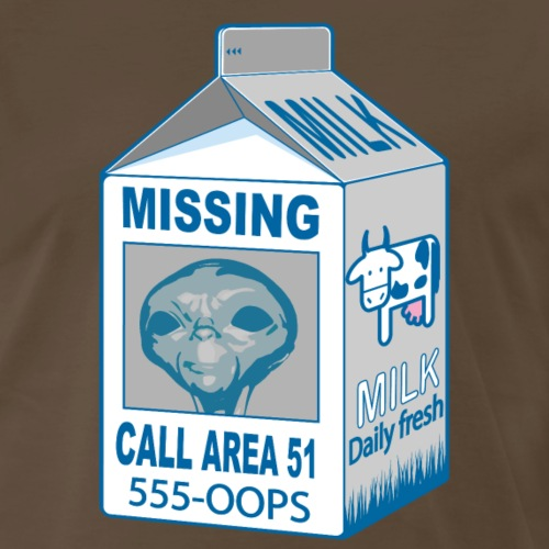 Missing Alien - Men's Premium T-Shirt