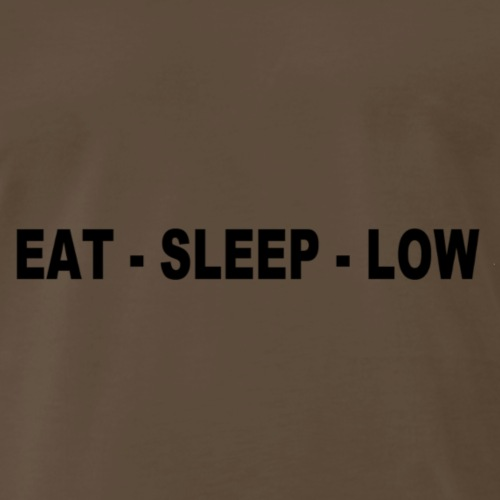 Eat. Sleep. Low - Men's Premium T-Shirt