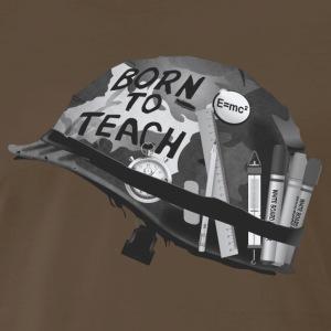 Born to teach science B&W - Men's Premium T-Shirt