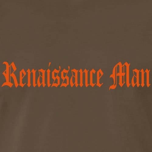 renaissance man - Men's Premium T-Shirt