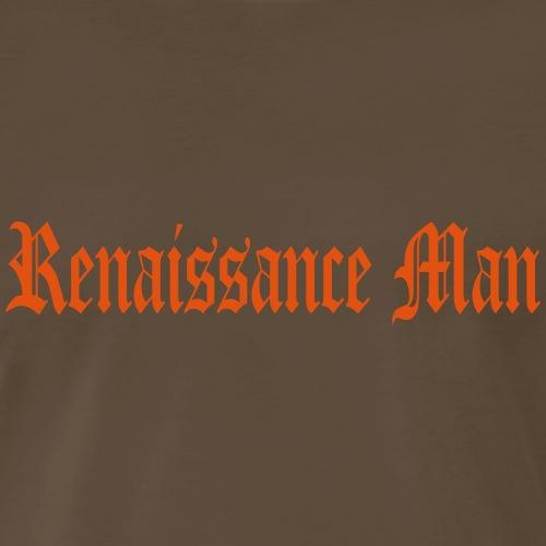 renaissance man - Men's Premium T-Shirt