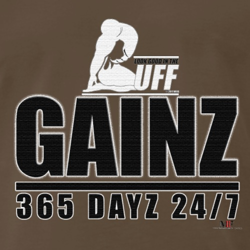 GAINZ 365 DAYZ - Men's Premium T-Shirt