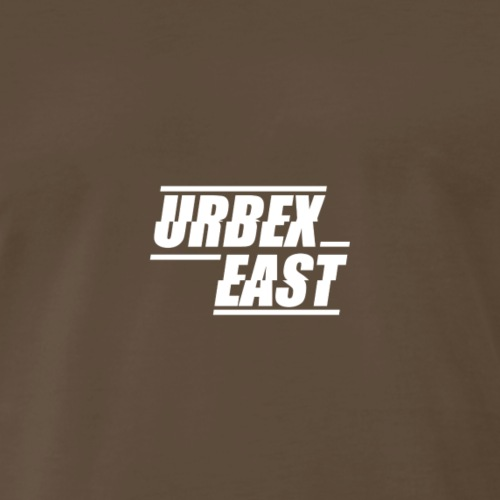 Urbex East Logo - Men's Premium T-Shirt