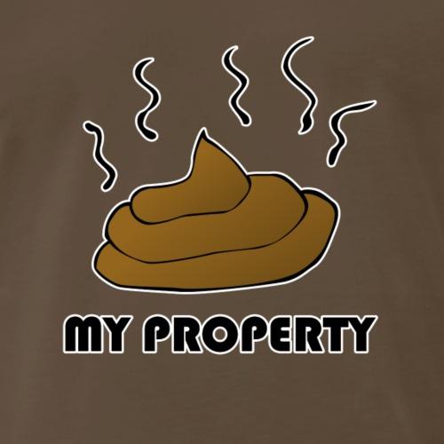 poop prop - Men's Premium T-Shirt