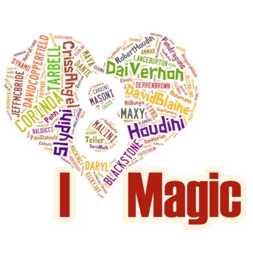 Reveal 8 of Hearts (I Love Magic) - Men's Premium T-Shirt