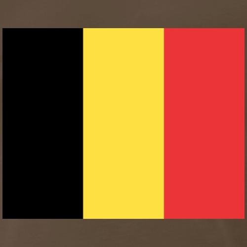 belgique flag - Men's Premium T-Shirt
