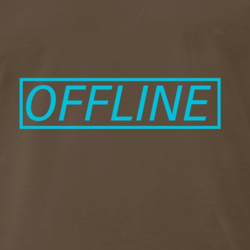 Offline Blue - Men's Premium T-Shirt