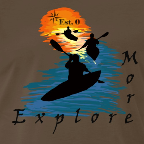 Yak Explore More - Men's Premium T-Shirt