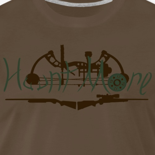 Est. 0 Hunt More - Men's Premium T-Shirt