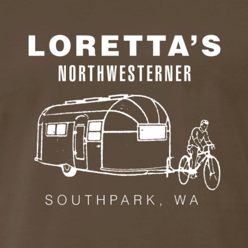 Loretta's Airstream Logo - Men's Premium T-Shirt