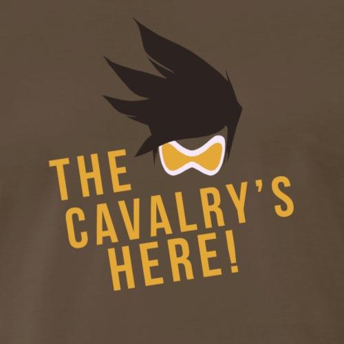 OVERWATCH TRACER THE CAVALRY'S HERE! DESIGN - Men's Premium T-Shirt