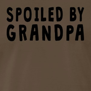 Spoiled By Grandpa - Men's Premium T-Shirt