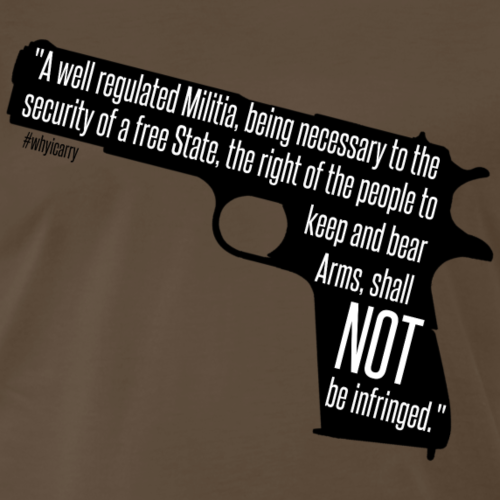 Know Your Rights - Second Amendment - Men's Premium T-Shirt