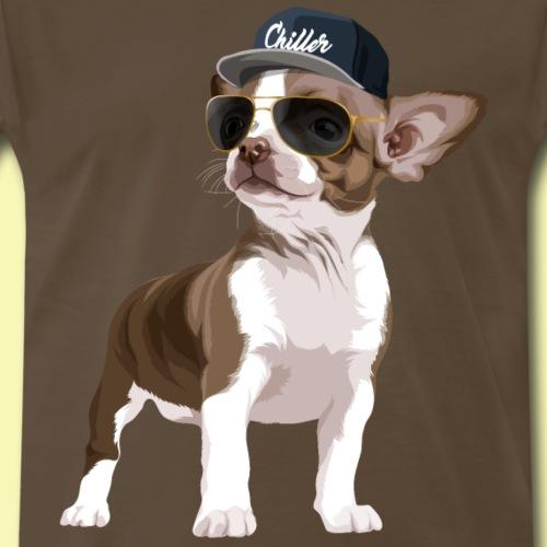 Chillerhuahua - Men's Premium T-Shirt