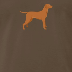 Vizsla - Men's Premium T-Shirt