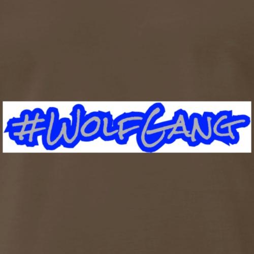 #WolfGang (White)   Tiggah The Rapper - Men's Premium T-Shirt