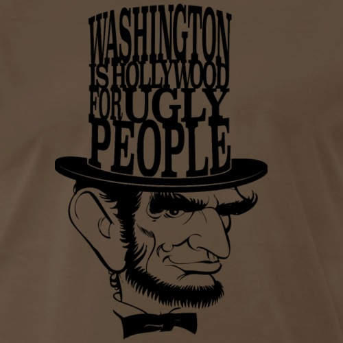 DC Quote - Ugly People - Men's Premium T-Shirt