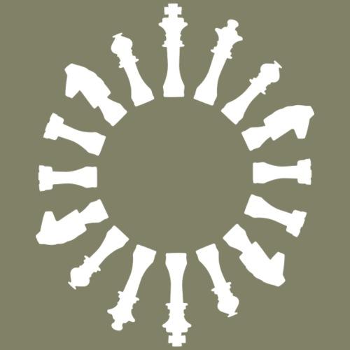 bishop chess - Men's Premium T-Shirt