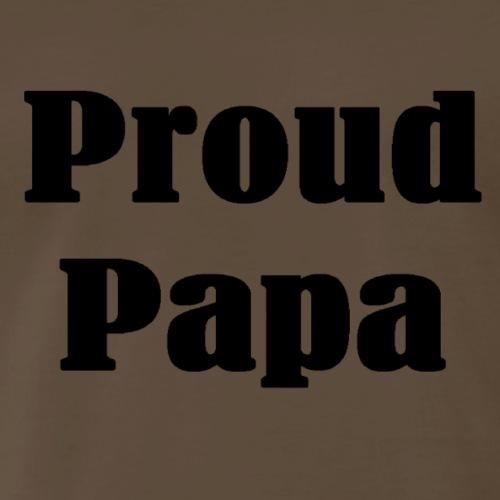 Proud Papa T-shirts and Gifts - Men's Premium T-Shirt