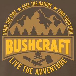 Bushcraft & Survival - Men's Premium T-Shirt