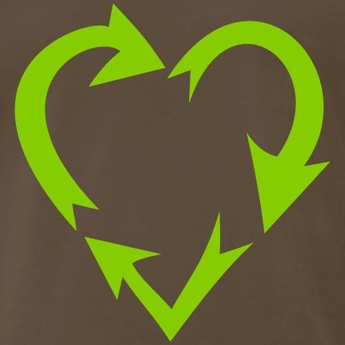 environment nature love (variable colors!) - Men's Premium T-Shirt