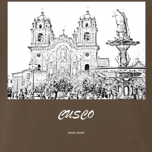 parade ground cusco - Men's Premium T-Shirt
