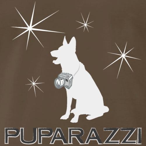Puparazzi Pup Play Puppy Pride Camera Photography - Men's Premium T-Shirt