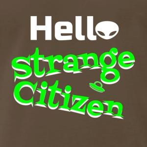 hello strange citizen 4 - Men's Premium T-Shirt