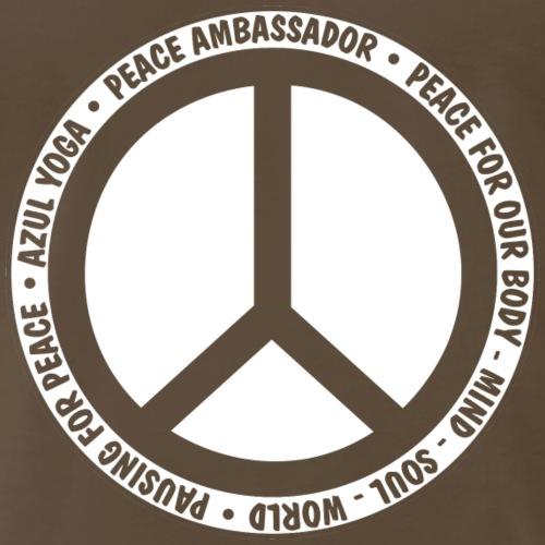 Peace Ambassador - White - Men's Premium T-Shirt