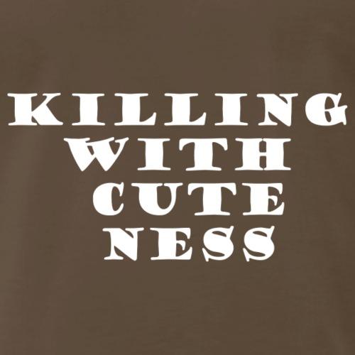 Killing with cuteness - Men's Premium T-Shirt