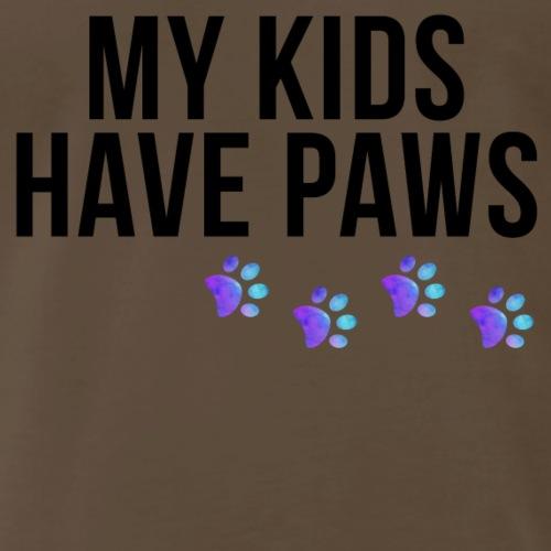 My Kids Have Paws - Men's Premium T-Shirt