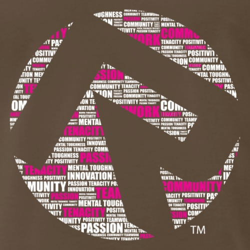 R Core Values Tshirt white pink - Men's Premium T-Shirt
