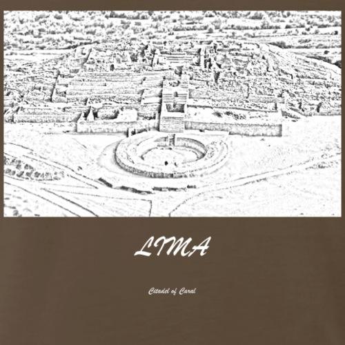 Citadel of Caral lima - Men's Premium T-Shirt