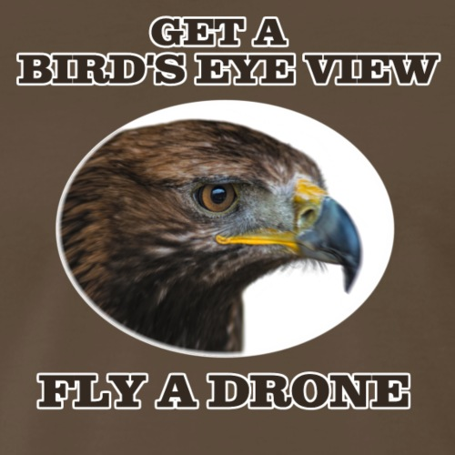 birds eye view - Men's Premium T-Shirt