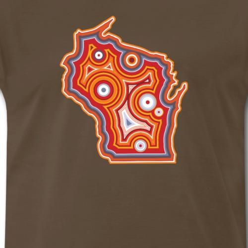 Wisconsin Agate Collector - Men's Premium T-Shirt