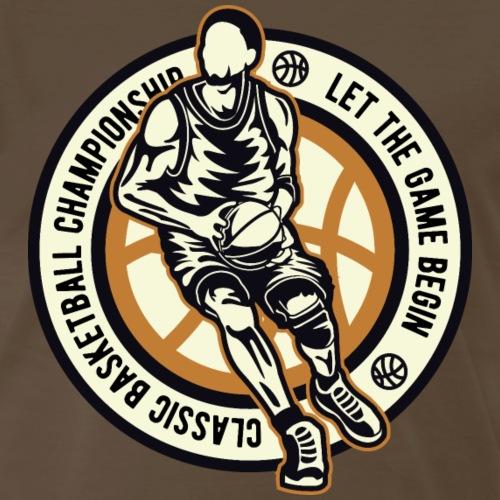 Classic Basketball Championship - Men's Premium T-Shirt