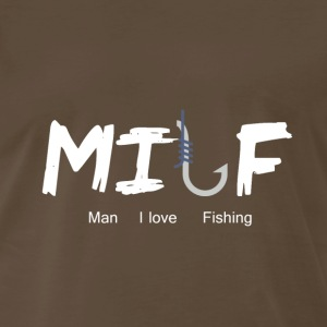 Man I Love Fishing - Men's Premium T-Shirt
